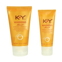 K-Y Warming Jelly Lubricant front