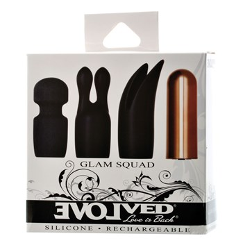 Glam Squad Rechargeable Bullet Set box