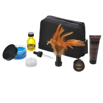 Kama Sutra Getaway Kit all coponents and bag
