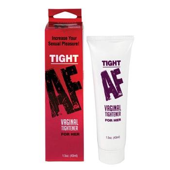 Tight AF Vaginal Tightener front of bottle