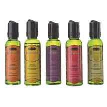 Kama Sutra Massage Indulgence 5 bottles on table