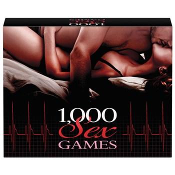 1000 Sex Games box