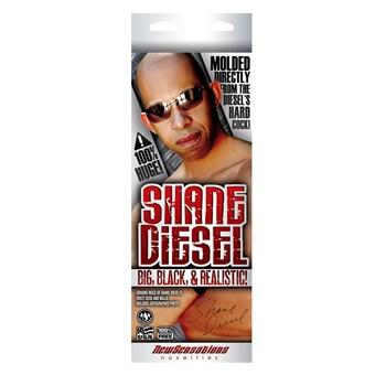 Shane Diesel Realistic Dildo box