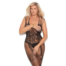 Sexy Illusion Bodystocking black front