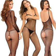 Trio Bodystocking Set