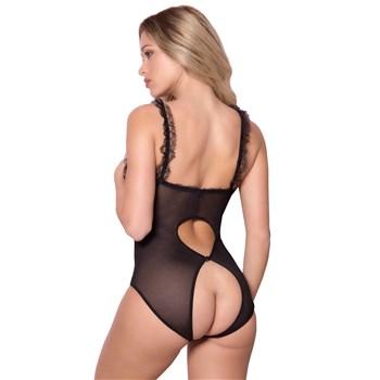 open for pleasure teddy black back