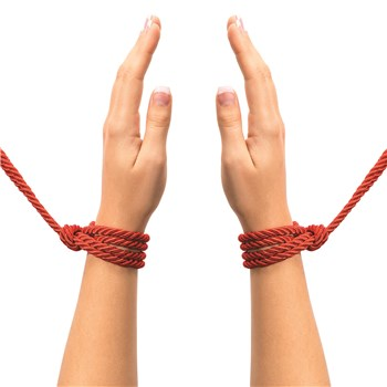 Fifty Shades of Grey Restrain Me Bondage Rope Twin Pack Hand Shot - Red