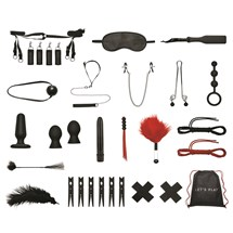 Lux Fetish Beadspreaders 20 Piece Bondage in a Box Set All Components