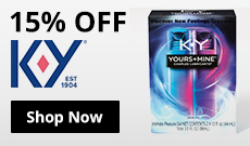 Save 15% On K Y Lubes!