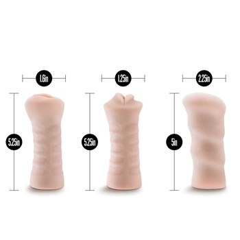 self lubricating 3 pack with measurements