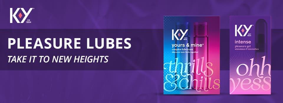 KY pleasure lubes