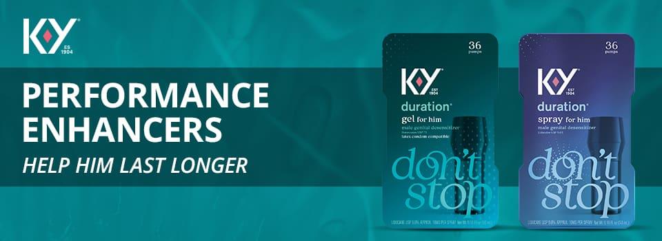 KY performance enhancers