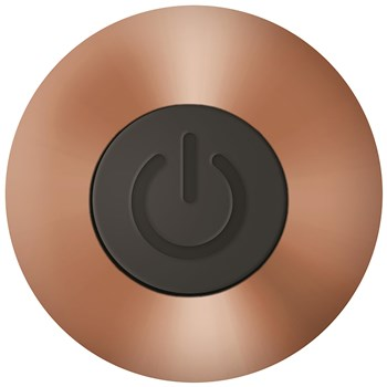 Eve's Copper Cutie Rechargeable Bullet Bottom of Vibrator