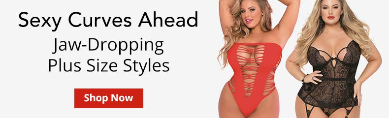 Shop Plus Size Lingerie!