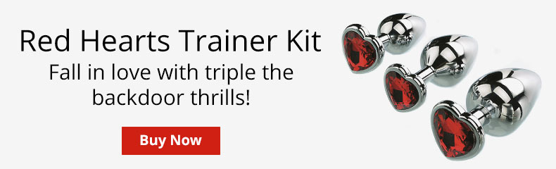 Buy A Red Hearts Anal Trainer Kit!