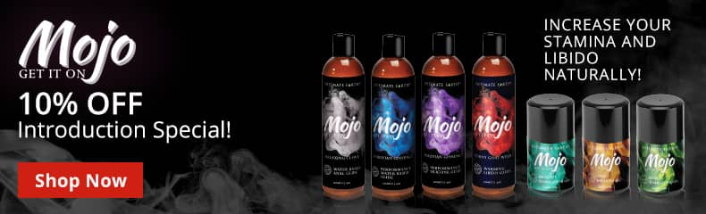 Intimate Earth Mojo Lubes Introduction Sale! Boost Your Stamina And Libido!