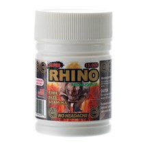 Super Rhino Supplement bottle