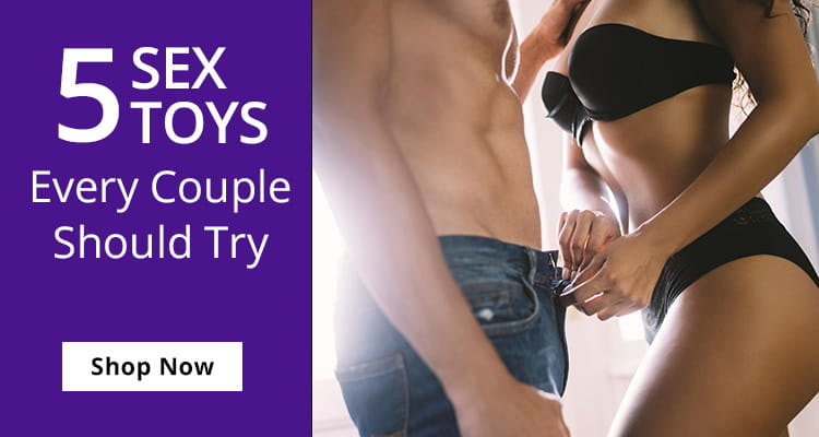 Shop 5 Sex Toys Every Couple Should Try!