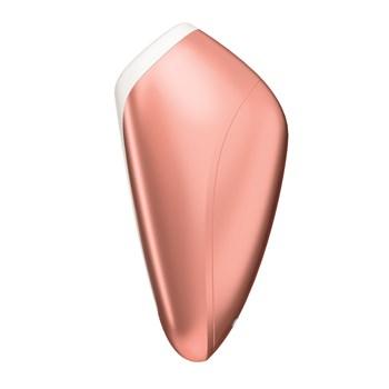 Satisfyer Love Breeze Air Pulse Clitoral Stimulator Side View - Copper