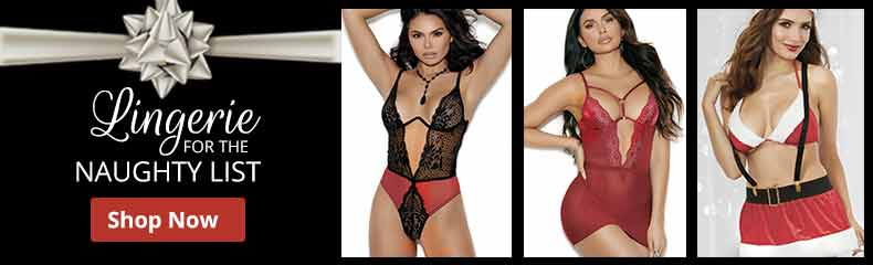 Shop Lingerie For The Naughty List!