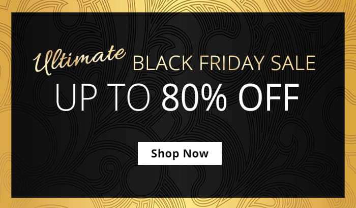 Shop Our Ultimate Black Friday Sale! Up To 80% Off!