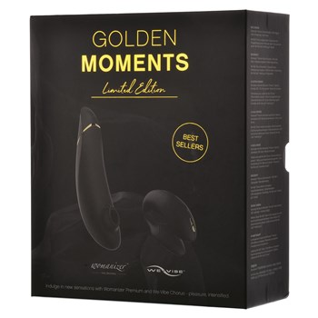 Womanizer/We-Vibe Golden Moments Collection Packaging Shot