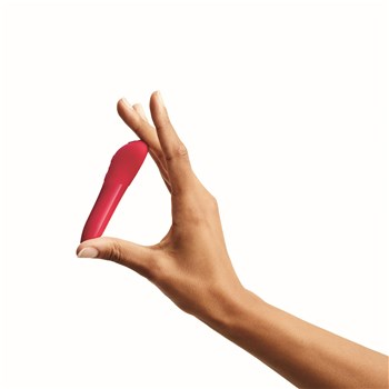 We-Vibe Tango X Bullet Vibrator Hand Shot - Red