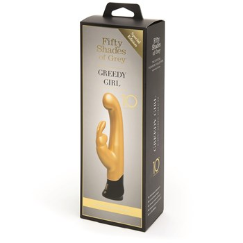 Fifty Shades of Grey Greedy Girl Gold Edition Packaging Shot
