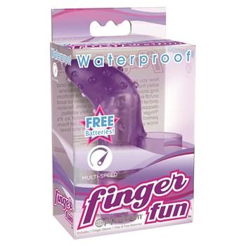 Waterproof Finger Fun Vibrator Package Shot