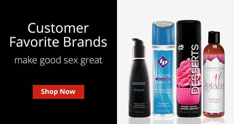 Shop Customer Favorite Lube Brands!