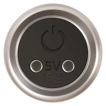 Eve's Rechargeable Silver Metal Bullet - Bottom