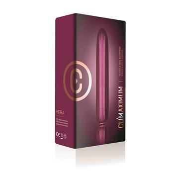 Climaximum Hera Ridged Bullet Vibrator Packaging Shot