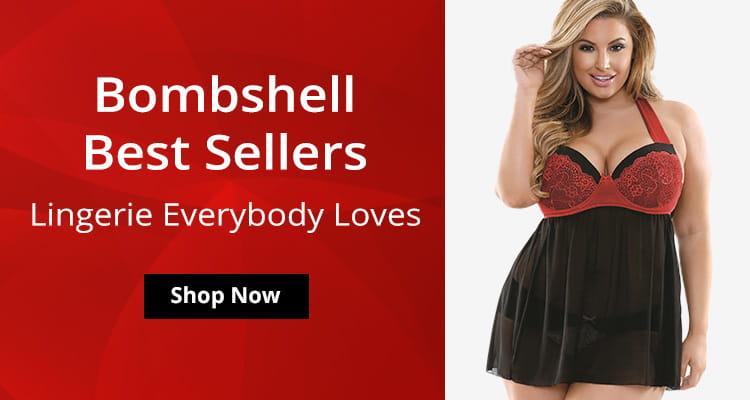 Shop Best Selling Bombshell Lingerie!