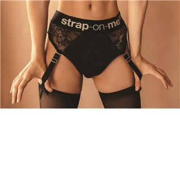 Strap-On Me Diva Harness on Model