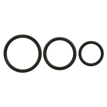 Pegasus 6.5 Inch Vibrating Dildo Harness Set - O-Ring Set