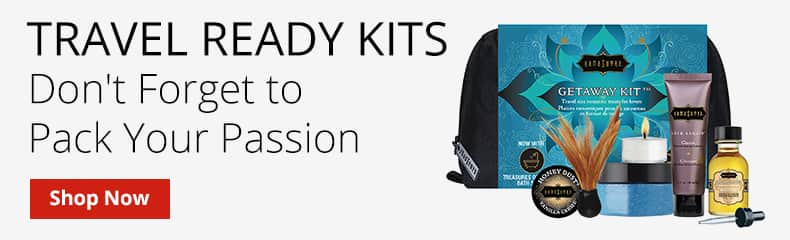 Shop Travel Ready Kits! Don't Forget To Pack Your Passion!