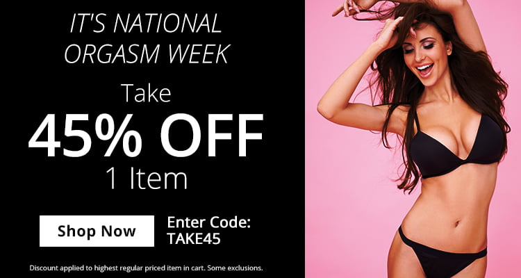 Use Code TAKE45 for 45% Off 1 Item!