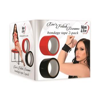 Eve's Fetish Dreams Bondage Tape - Twin Pack Package Shot