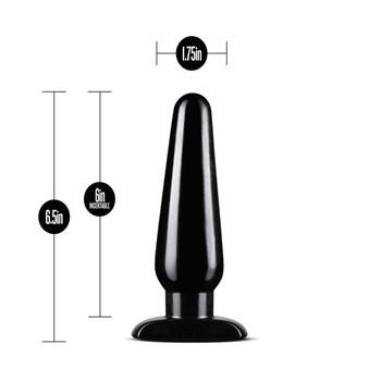 anal adventures basic plug kit with measurements