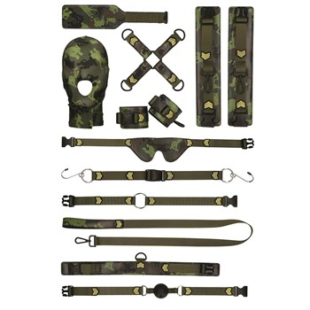 Army Bondage Kit - All Components