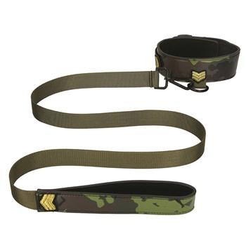 Army Bondage Kit - Collar and Leash