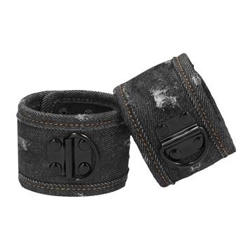 Denim Bondage Kit - Wrist Cuffs