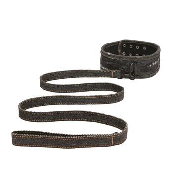 Denim Bondage Kit - Collar and Leash
