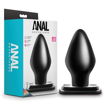 Anal Adventures XXL Plug with box packaging