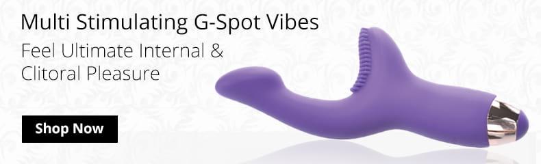 Shop Multi Stimulating G Spot Vibes!