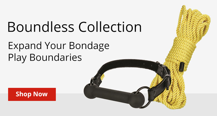 Shop Boundless Collection And Expand Your Bondage Play Boundaries!