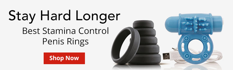 Stay Hard Longer With Our Best Stamina Control Penis Rings!